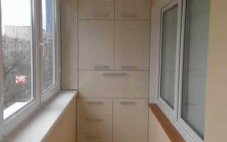 Шкаф на балконе своими руками: как сделать дешево и красиво
