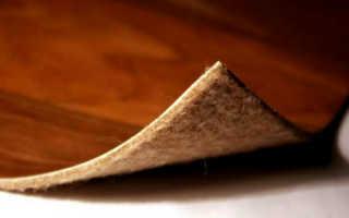 Подкладка под линолеум на бетонный пол
