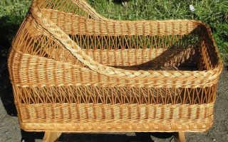 Плетение мебели из лозы своими руками