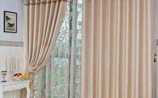 Как удлинить шторы из органзы