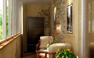 Чем покрыть кирпич на балконе лучше всего?