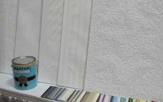 Методика покраски флизелиновых обоев