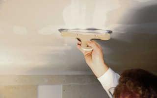 Как правильно осуществить подготовку потолка под покраску