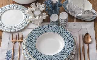 Как сервировать стол для гостей