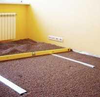 Утепление пола керамзитом в деревянном доме между лагами