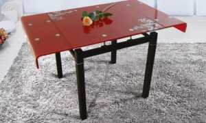 Как собрать стеклянный стол для кухни