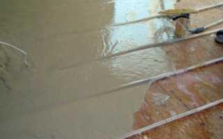 Чем заливать теплый водяной пол: материалы и их особенности