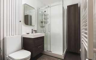 Как обустроить ванную комнату с душевой кабиной