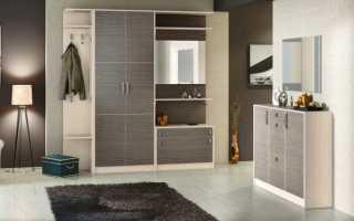 Прихожая своими руками в стиле модерн, варианты отделки стен в панельном доме