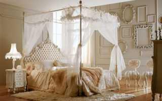 Как сделать полог над кроватью своими руками