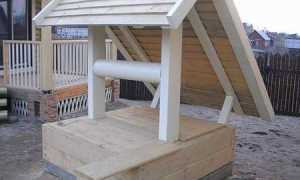 Как украсить колодец на даче своими руками