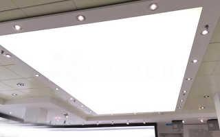 Как сделать светящийся потолок своими руками?