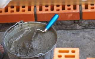 Как развести цемент? каким должно быть соотношение цемента и песка?