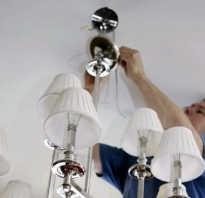 Как крепить люстру к бетонному потолку