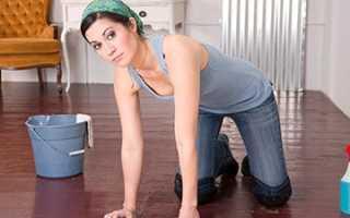 Как быстро помыть полы дома