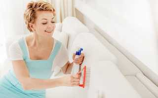 Каким средством почистить диван в домашних условиях