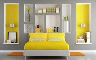 Оформление ниши в спальне: идеи и способы использования