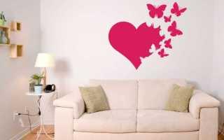 Как украсить стену: интересные варианты декора