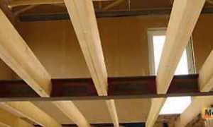 Виды деревянных балок перекрытия – расчет балки на изгиб, прочность и нагрузку