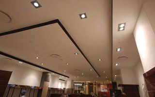 Различные варианты отделки потолка