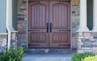 Входные двери: фото благополучия