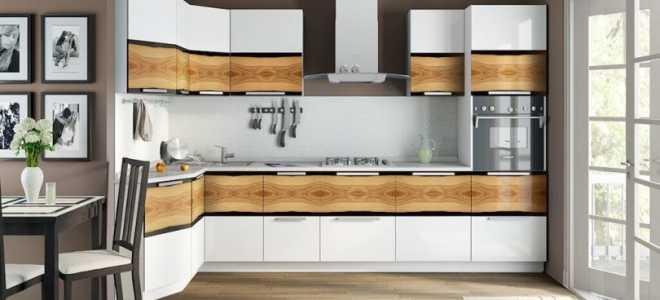 Стандартные габариты кухонной мебели