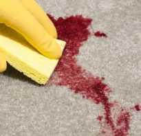 Как убрать кровь с дивана быстро