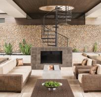 Габионы – оригинальный способ украсить загородный дом