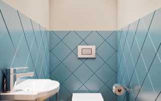 Оформляем свой санузел плиткой для туалета