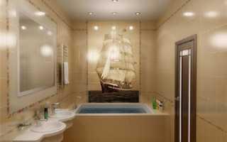 Экраны для ванной: особенности и фото