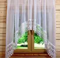 Арочная штора своими руками