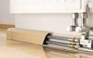 Как закрыть трубы отопления в частном доме