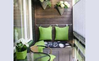 Устройство балконного термопогреба для хранения овощей