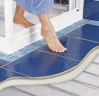 Особенности укладки теплого пола под плитку своими руками: электрические и водные системы