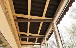 Установка крыши на балкон своими руками: следуя инструкции, делаем сами