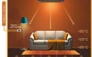 Теплый потолок своими руками: просто и доступно