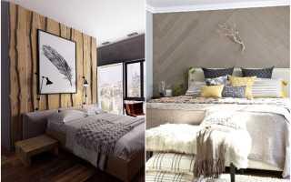 Отделка стен деревом своими руками: облицовка спальни