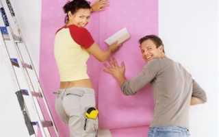 Как правильно приклеить обои на краску, советы специалистов
