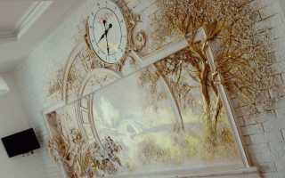 Объемное панно на стену – оригинальное украшение своими руками