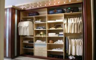 Шкаф-купе внутри: примеры планировки шкафа