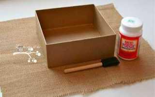 Как сделать шкатулку для украшений своими руками