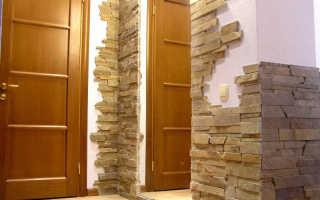 Идеи отделки дверных проемов камнем