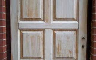 Как отремонтировать дверь из ДСП