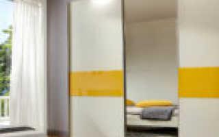 Как самому сделать раздвижные двери в шкафу