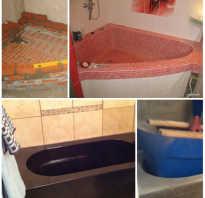 Изготавливаем самодельную ванну