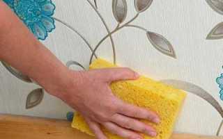 Как сделать моющиеся обои