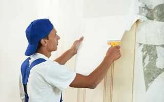 Клеим обои: подготовка стен к оклеиванию и сама работа