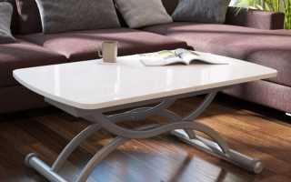 Раздвижные столики для гостиной
