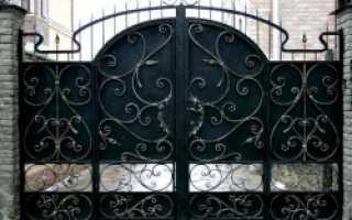 Кованые ворота – примерные цены и фото различных вариантов