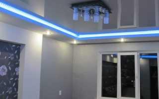 Как правильно сделать подсветку потолка: варианты, советы